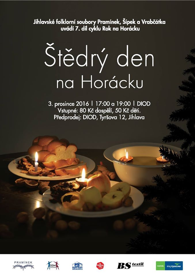 Štědrý den na Horácku - Pramínek Jihlava