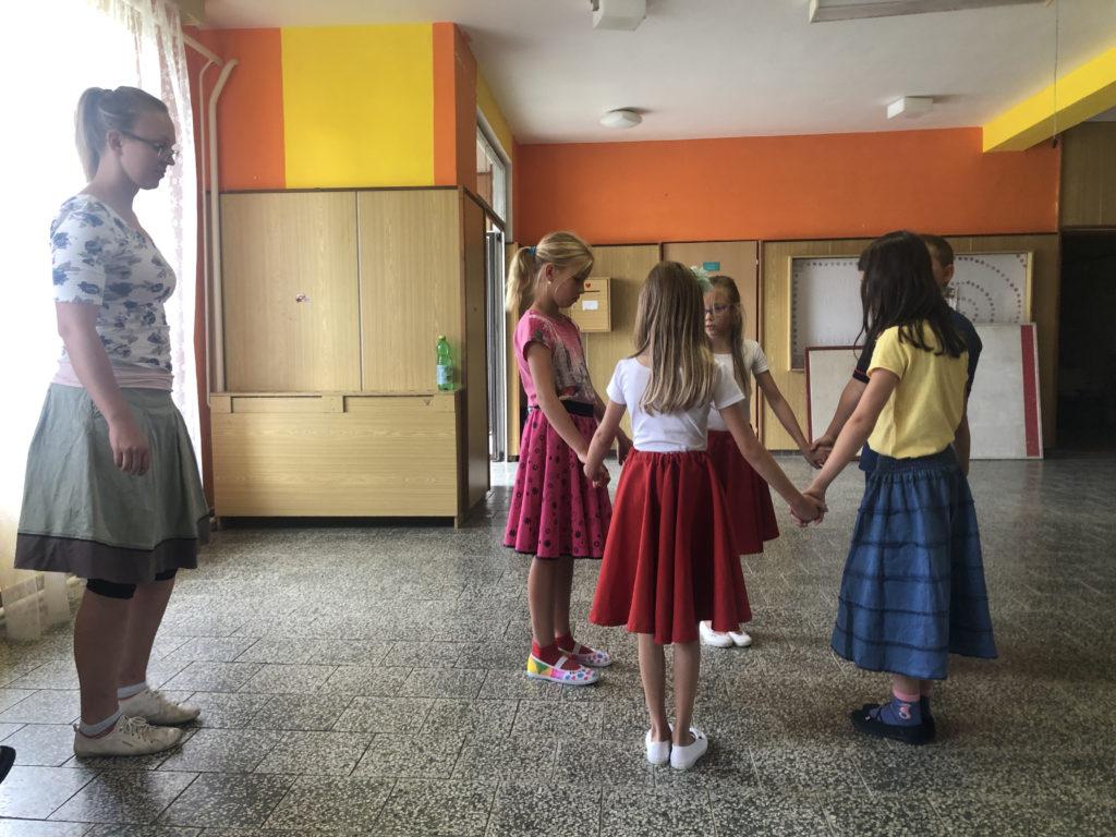 Rozdělování do tanečních družstev